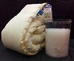 安徽省産のライオンヘッドマザーグースを使った羽毛布団