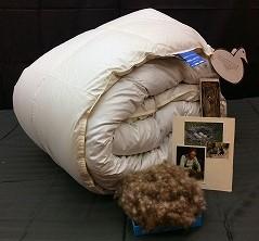 アイダーダウンの羽毛布団