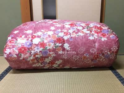 9年前の敷き布団です。今ついている生地で打直し•仕立替えをお願いしたいと思います。 希望は、シングルの敷布団1枚ができますでしょうか?